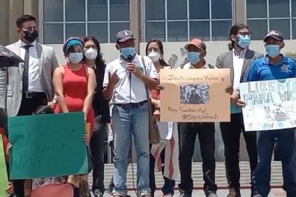 Sistema de justicia hondureño se encarga de tener bajo prisión a defensores indígenas