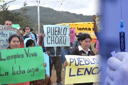 Otra vez el Estado de Honduras: Invisibilizados están indígenas y defensores de derechos humanos en proceso de vacunación