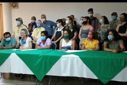 Delegación internacional abogará por la libertad de los defensores de Guapinol desde Estados Unidos