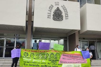 Aunque la CSJ no les escucha: Trabajadoras domésticas vuelven a la carga para que se les restituyan sus derechos
