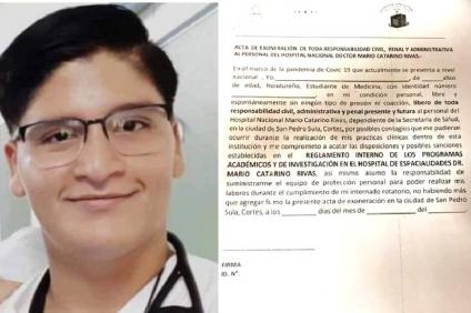 Estado de Honduras es responsable por la vida de los estudiantes de Medicina que hacen el servicio social
