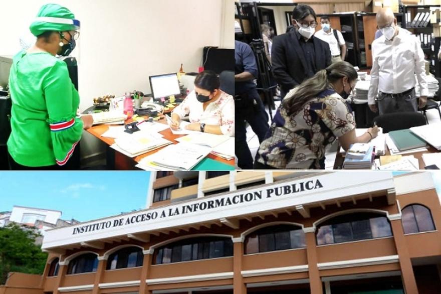 Demandan organizaciones ante IAIP: Resolución que reserva  información sobre campañas políticas debe ser anulada