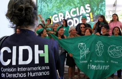 Organizaciones de Mujeres presentan ante la CIDH  el caso de la reforma constitucional del aborto en Honduras