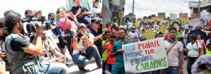 183 personas están con medidas de protección en Honduras,de éstas 135 son defensoras de DDHH