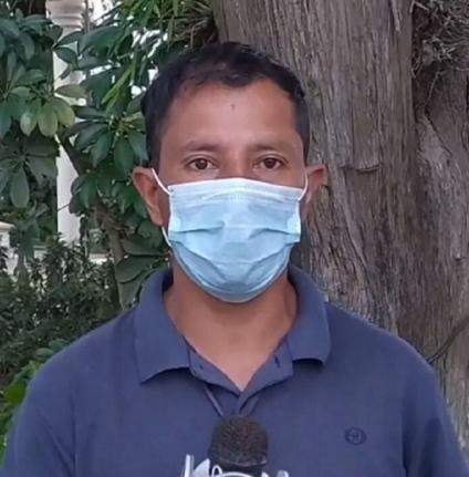 Mensaje a periodista: Hoy sí te metiste a problemas, hacete humo rápido o tus hijos pagarán